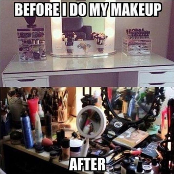 Everytime! Who does this? makeupfreaks
