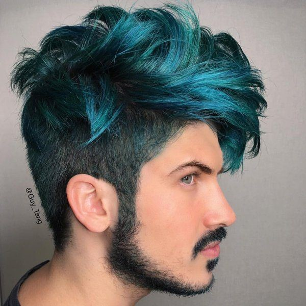 6 Startling Hair Color Ideas for Men to Rock The Party ...