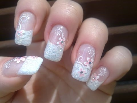 7 Sparkling Nail Designs For Long Nails Makeup And Beauty Blog Of