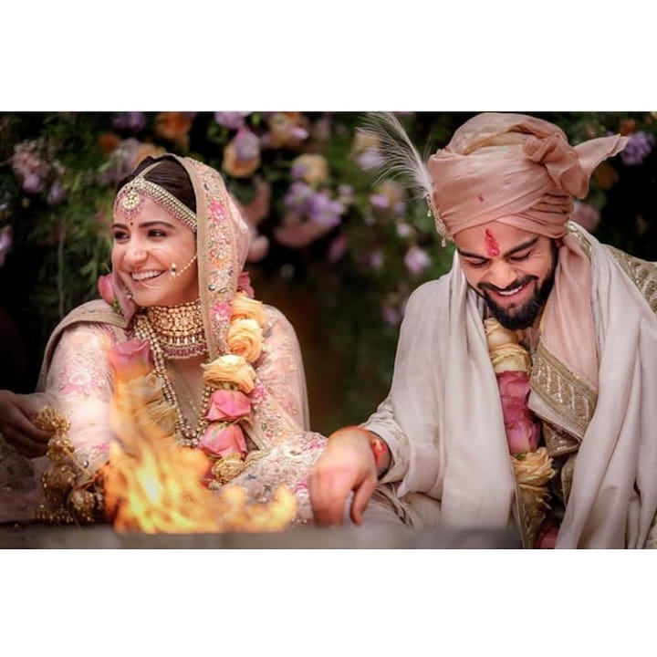Virushka is official Our belief in fairy tales has neverhellip