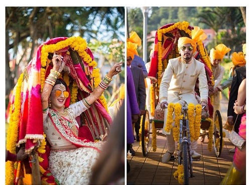 10 Quirky And Unconventional Bridal Entry Ideas Makeup And Beauty Blog Of India Olready