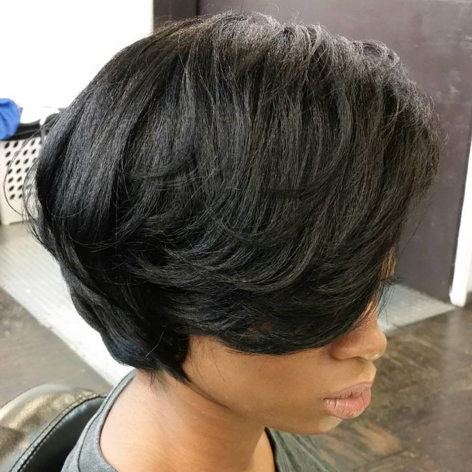 Sophisticated bob with layers