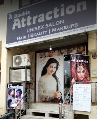 double-attraction-unisex-salon-gurgaon-sector-17